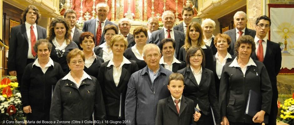 Coro a Zorzone.2011.ev