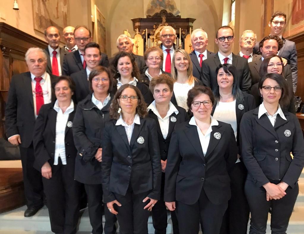 Il Coro Santa Maria del Bosco al Santuario del Perello (Rigosa di Algua-Bg) il 26/05/2018