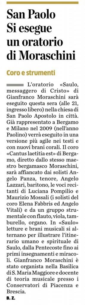 articolo da -L'Ecco di Bergamo-03.10.2015