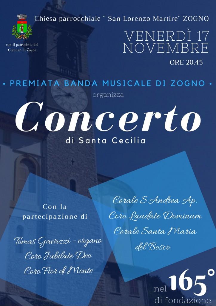 Il Coro Santa Maria del Bosco vi attende numerosi per festeggiare la PREMIATA BANDA MUSICALE DI ZOGNO nel suo 165 anniversario di fondazione!