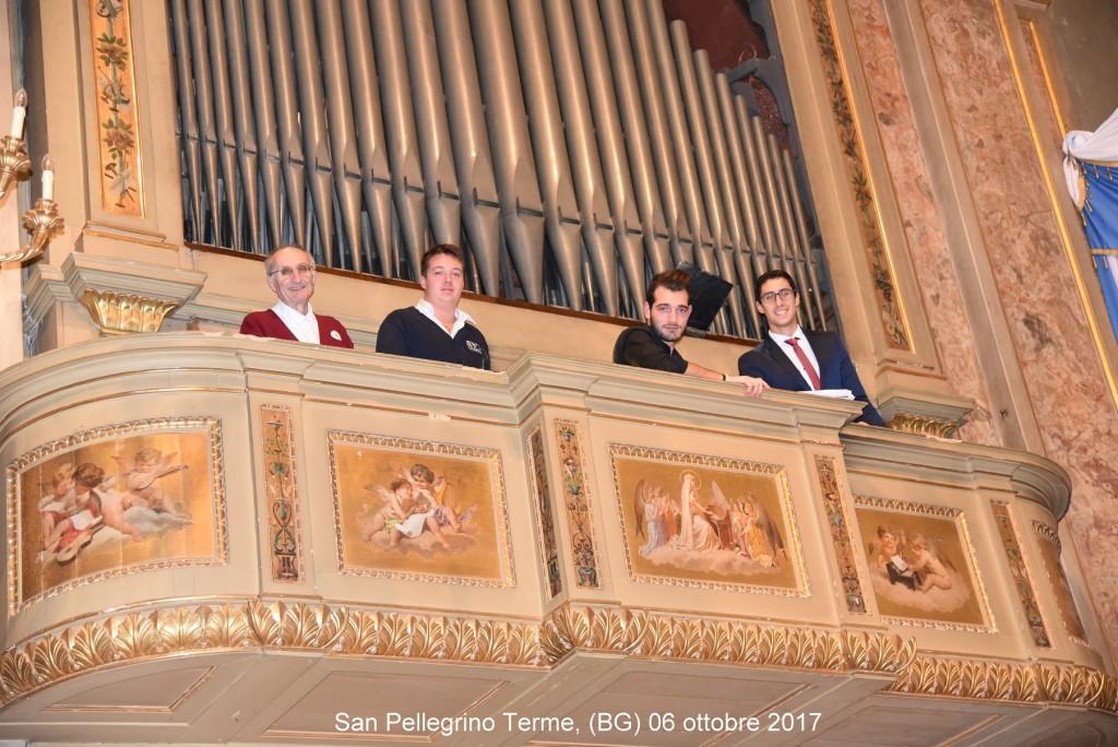 organisti a San pellegrino Terme
