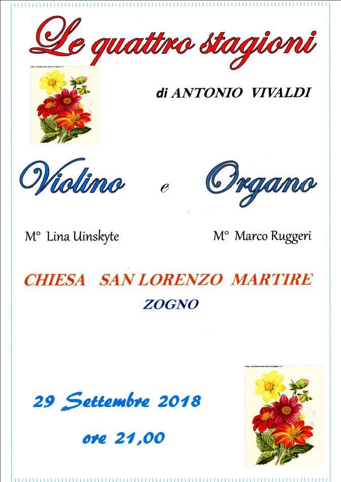 Concerto violino ed organo
