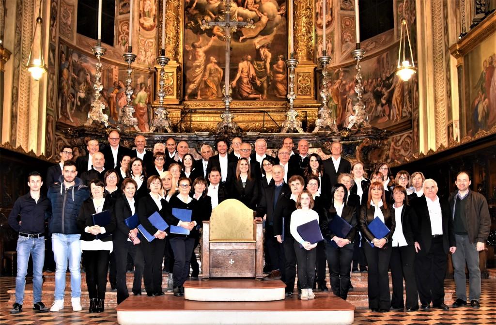 Il Coro Santa Maria del Bosco e la Corale Laudate Dominun nel Duomo di Cremona, 02.03.2019