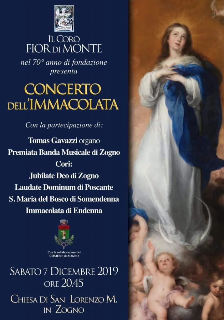 Concerto nell'ambito delle manifestazioni celebrative del 70° anniversario di fondazione del Coro Fior di Monte